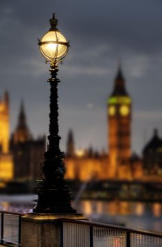 Southbank Lights with Parliament and Big Ben in background, London by Andrew Sweeney | Flickr - Photo Sharing!
