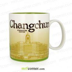 SM110 16oz Starbucks China Changchun Global Icon Series City Mug