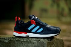 9e1592166 Adidas Zx 5000 Rspn Shoes Dark Navy Blue Red White Quality Assurance