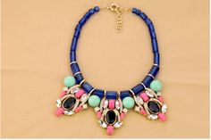 SHY Boutique : Jcrew inspired statement necklace