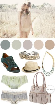 Color Crush: A Pale SpringtimePalette - Home - Creature Comforts - daily inspiration, style, diy projects + freebies