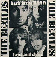 BACK IN THE USSR the  BEATLES