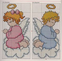 * Graphics For Embroidery in Cross Stitch *: Children