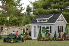 Sheds Unlimited is a builder of custom built sheds both in wood and vinyl. Free delivery on custom sheds and garages Free quote on Custom Built Sheds.
