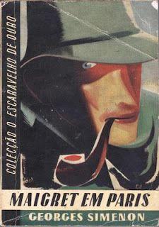 Maigret in Paris, Georges Simenon, art: Roberto Araújo Pereira