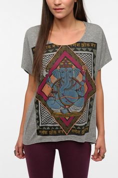 Title Unknown Ganesha Triblend Tee Online Only Back in Stock