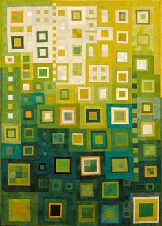 Image of quilt titled  Transition One by Ellin Larimer