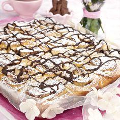 Bullar med krossad choklad och vanilj, ljuvligt gott till fikat.