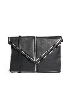 Image 1 ofJohnny Loves Rosie Envelope Clutch Bag $84.66