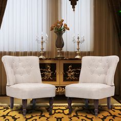white 2PCS French Chair Creme - LovDock.comhttps://www.lovdock.com/sofa-chairs-2823/p-240288au.html?aid=C6624