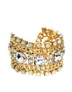 New Look Stone Heart Bracelet