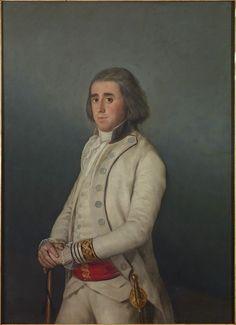 Francisco de Goya, Don Valentín Bellvís de Moncada y Pizarro, around 1795. Marqués de Villanueva del Duero.