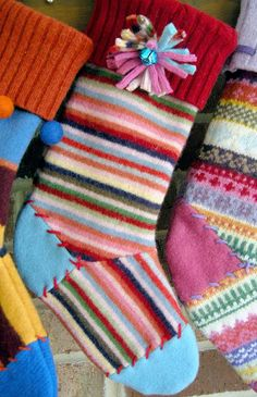 If you're in the VA, MD, DC area, I'd love it if you'd join me this Sunday, November 13th at Fibre Space in Alexandria, VA for my Felted Wool Stocking Workshop! We'll be knee deep in felted wool sweaters transforming them into beautiful stockings for holiday decor or to give as gifts. The fuzz will ...