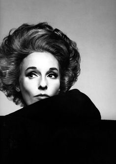 Babe Paley by Richard Avedon.