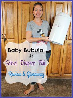 My Baby Bubula Jr Steel Diaper Pail giveaway (9/10/2016)