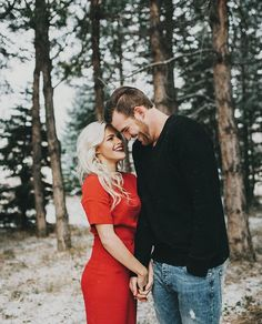 Witney Carson and Carson Mcallister engagement photos