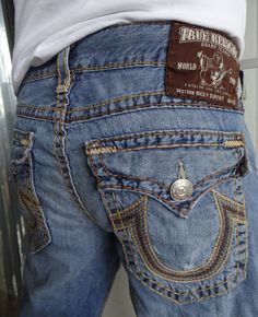 Details about MEK Men Jeans Sarawak Thick Stitch Button Flap ...