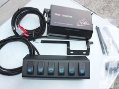 S Pod And Switch Panel - Photo 01 - Jeep Wrangler JK Electric Add-Ons