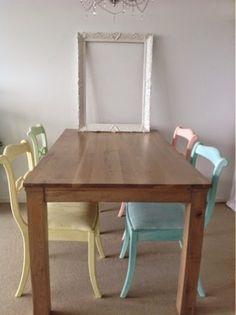 Je meubels opknappen doe je in een handomdraai met krijtverf! Kijk maar eens op dit blog!