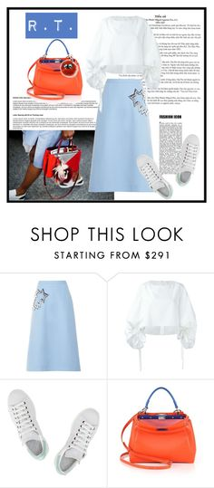 """R.T.-1441"" by sopo-davituri on Polyvore featuring мода, Christopher Kane, Delpozo, adidas и Fendi"