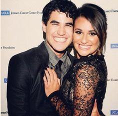 And Lea Michele and Darren Criss are so presh
