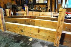25 foot short post koi pond bridge - by Gardengridges @ LumberJocks.com ~ woodworking community