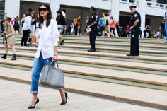 NYFW Street Style Photos - Spring 2015 New York Fashion Week Street Style Pictures