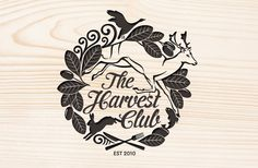 The Harvest Club - Brand Identity by Di Fuller, via Behance