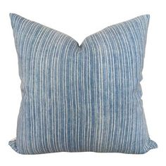 IKEA Billy Bookcase Hack - Wall Of Built-ins - The Sommer Home Cute Pillows, Blue Throw Pillows, Ikat Pillows, Down Pillows, Ikea Billy Bookcase Hack, Modern Farmhouse Decor, Linen Fabric, Linen Cloth, Designer Pillow