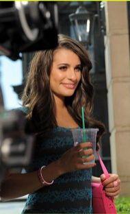 Lea Michele candies