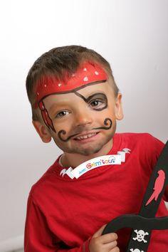 Un maquillage de clown ! Idées de maquillage garçon