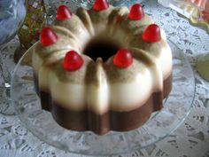 Chocolate, Vanilla Bundt Soap Cake
