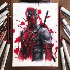 Deadpool by Stephen Ward Art