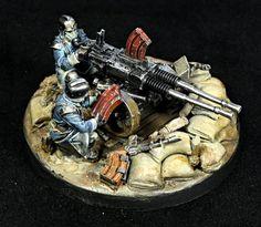 Warhammer 40k | Death korps of Krieg | Heavy Stubber #warhammer #40k #40000 #wh40k #wh40000 #warhammer40k #gw #gamesworkshop #wellofeterntiy #miniatures #wargaming #hobby #tabletop