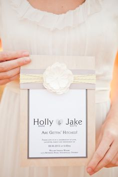Invitations by Jolie Papeterie