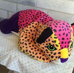 Large Lisa Frank Hunter, Lisa Frank Plush, Lisa Frank Leopard, Lisa Frank, Lisa Frank cat  Condition: preowned, good, clean and fluffy,no whiskers SEE