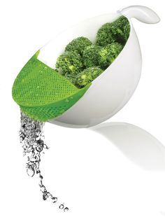This is smart - colander bowl by Art + Cook