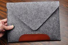 FeltBagWorld vous propose tous fabriqués à la main personnaliser feutre laptop Sleeve-Housse, housse de portable, Macbook pro cas ipad housse, sacs,