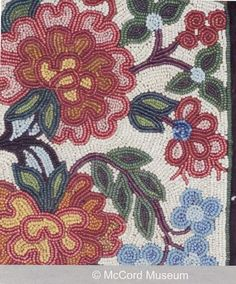 Design and Patterns in Metis Beadwork Native American Artwork, Native American Beadwork, Beading Patterns, Embroidery Patterns, Red River, Bead Crafts, Beaded Flowers, Beaded Embroidery, Fun Projects