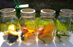 Make drinking water fun and interesting. Make your own vitamin water with your favorite fruits and get your required vitamins and minerals! Fruit Water, Fruit Infused Water, Fresh Fruit, Detox Drinks, Healthy Drinks, Healthy Meals, Healthy Food, Healthy Recipes, Kid Drinks