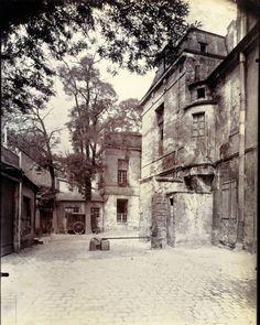 Ancien couvent des Carmélites, 286 rue Saint-Jacques Photo Atget 1899