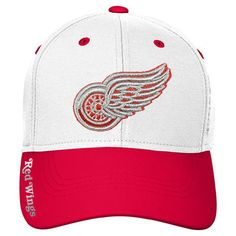 hot sales 77cc6 8223e Detroit Red Wings Reebok Youth 2017 Centennial Classic Coaches Flex Hat -  Red