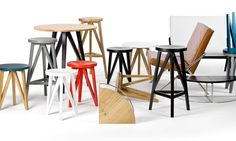 LOEHR Stools and Tables