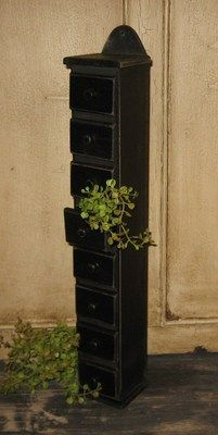 Finished Bathroom wall cabinet with black chalkboard paint then ...