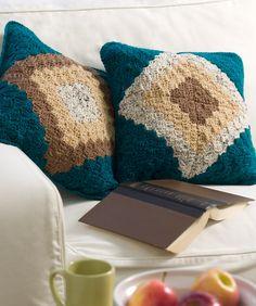 Double Take Pillow ~ free pattern