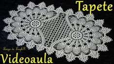 Diy Crafts Crochet, Crochet Home, Crochet Projects, Free Crochet, Lace Doilies, Crochet Doilies, Crochet Flowers, Crochet Table Runner Pattern, Crochet Placemats