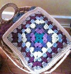 Crochet Mood Blanket 2014 Granny Square Pattern