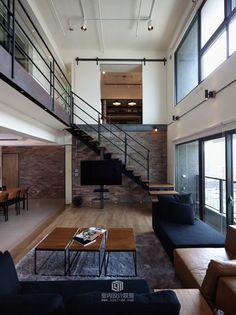 PMK+Designers:高雄LAI双层复式豪宅设计