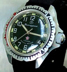 """Russian Vostok """"Komandirskie"""" watch"""