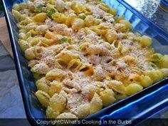 Broccoli Cheddar Pasta Bake